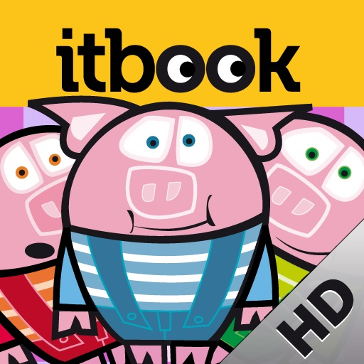 THE THREE LITTLE PIGS HD. ITBOOK STORY-TOY. icon