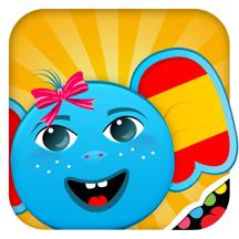 iPlay 西班牙语:儿童发现世界。 - 婴儿、幼儿、学前班、幼儿园儿童可通过玩游戏学英语。