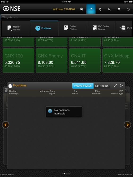 NSE Mobile for iPad screenshot-3