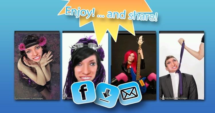 Fun Photo Booth - Fake Images screenshot-3