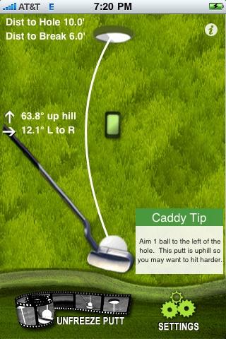 Golf Putt Reader