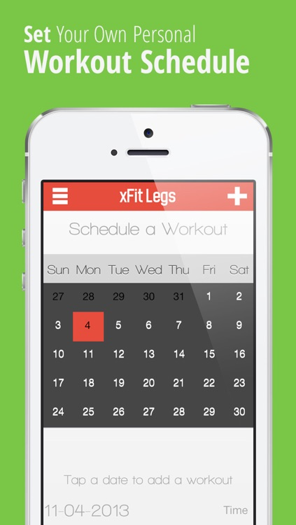 xFit Legs – Daily Workout for Tight Sculpted Thighs, Calves and Butt Muscles screenshot-3