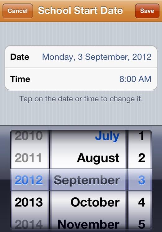 Back To School Countdown screenshot-3