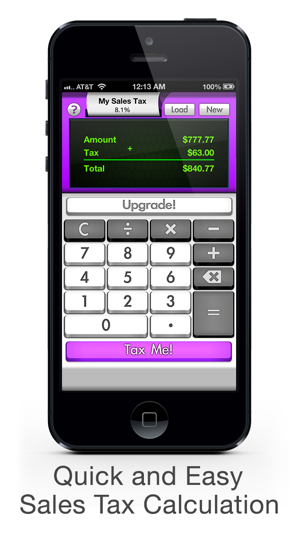 Sales Tax Calculator FREE Tax Me - Shopping Checkout, Coupon
