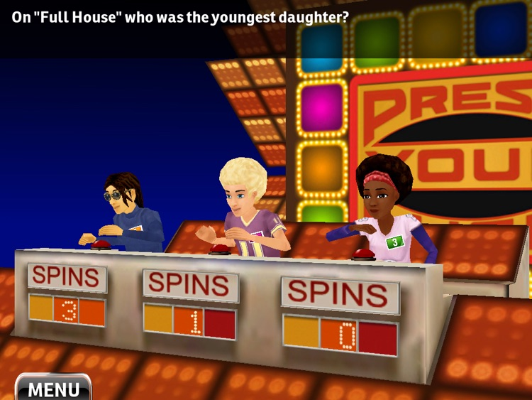 Press Your Luck ™ HD