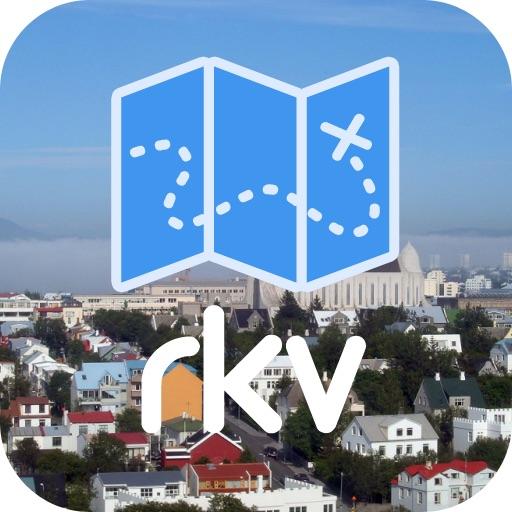 Reykjavik Offline Map & Guide