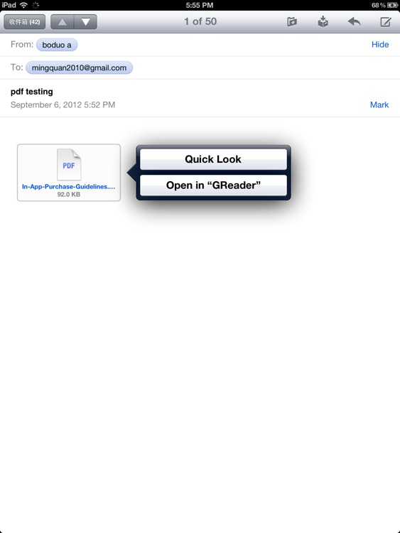 GReader - the best PDF reader for iPad screenshot-3