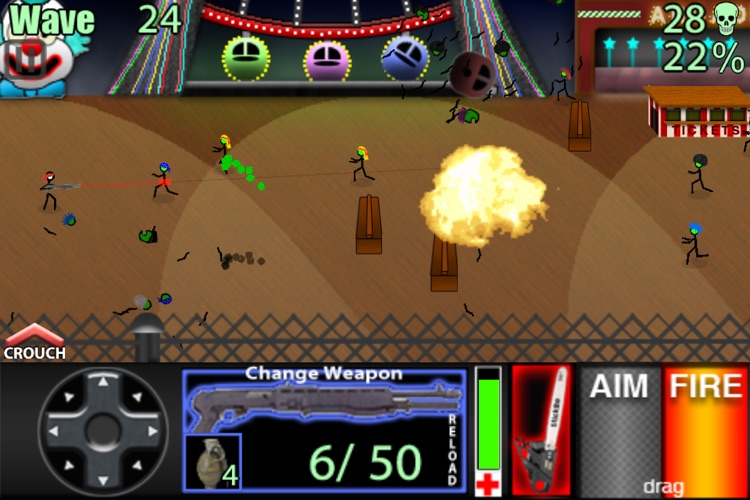 StickBo Zombies Lite screenshot-4