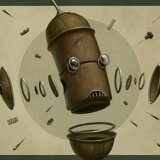Robot Art by Brian Despain