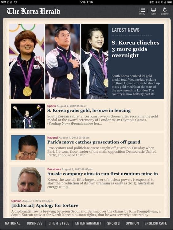 Korea Herald News for iPad