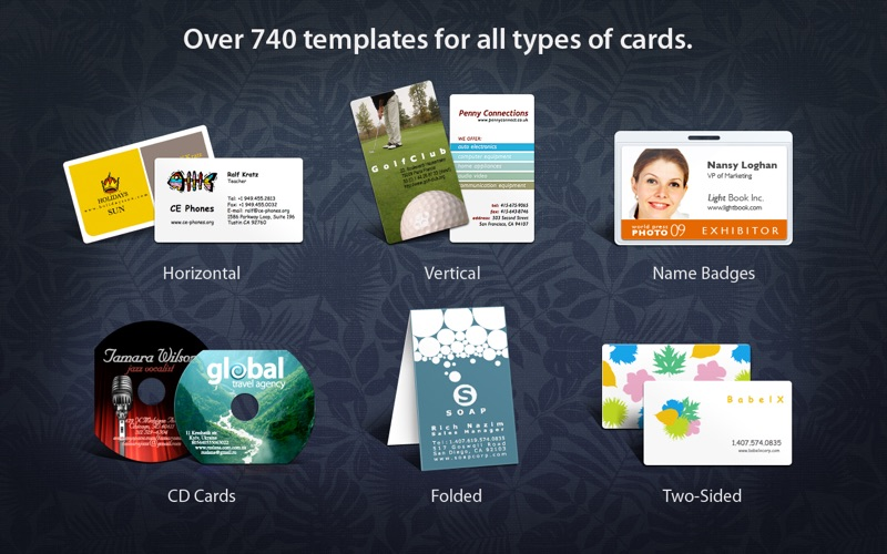 Business card composer 5 app price drops screenshot 1 for business card composer 5 colourmoves