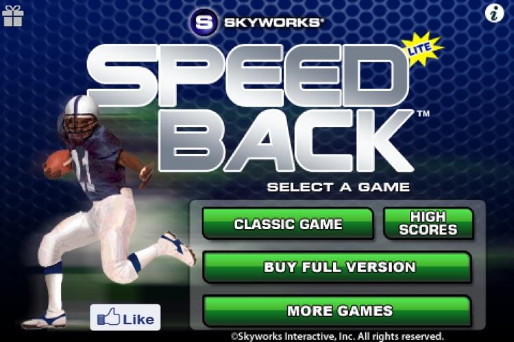 Speedback™ Football Free screenshot-4