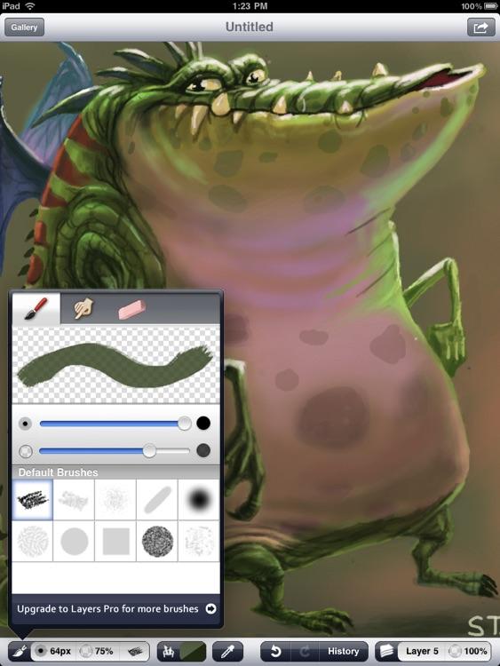 Layers - Standard Edition for iPad screenshot-3