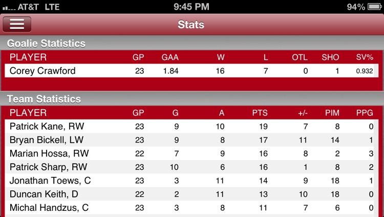 Chicago Hockey Live screenshot-4