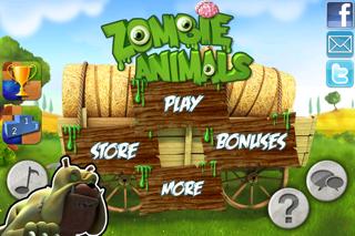 Zombie Animals screenshot one