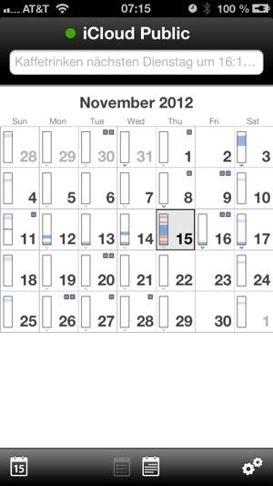 QuickCal - Der Kalender, der Ihre natürliche Sprache versteht Screenshot