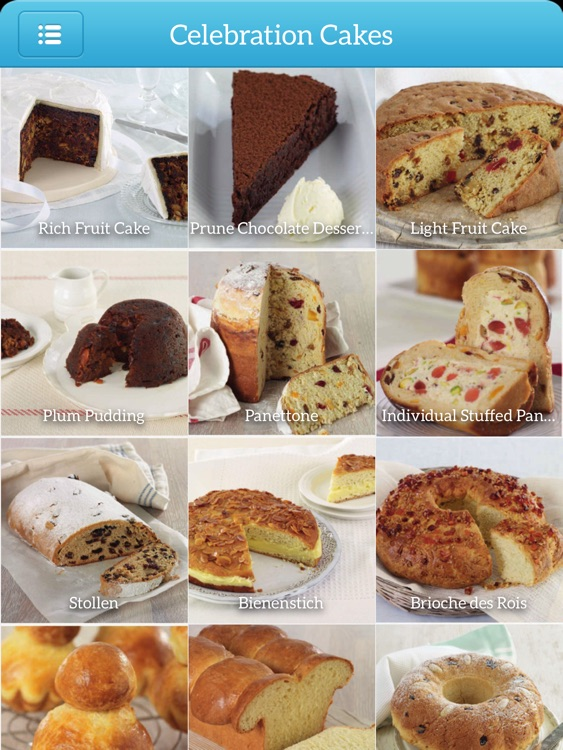 Baking - TK Photo Cookbook for iPad