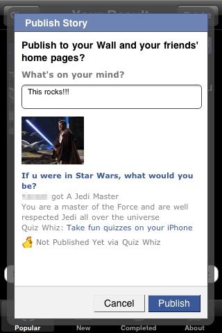 Quiz Whiz for Facebook (Free)