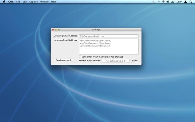 VPN Server Agent Screenshot
