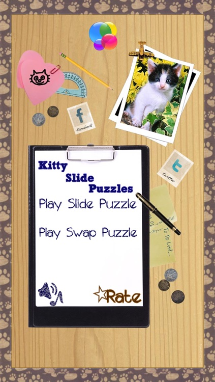 Kitten Slide Puzzles screenshot-0