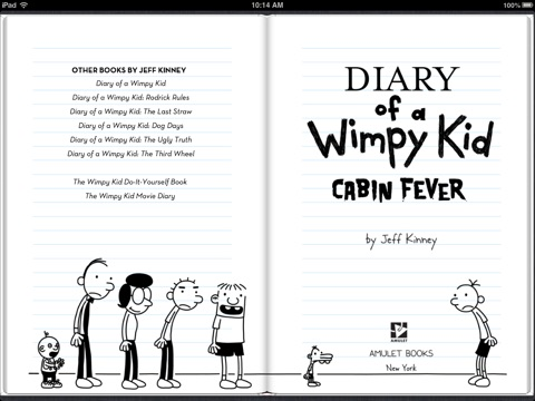 Cabin fever by jeff kinney on ibooks screenshot 1 solutioingenieria Gallery
