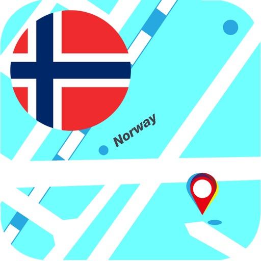 挪威離線地圖