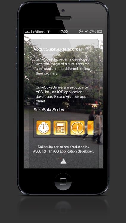 Transparent Recorder screenshot-3