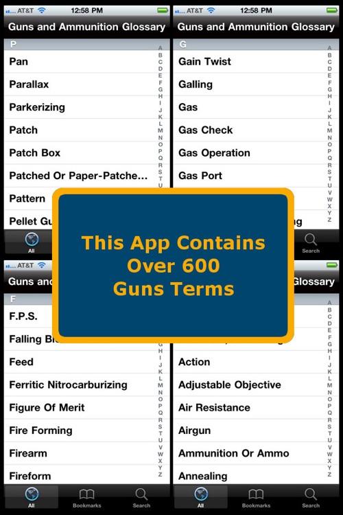 Guns & Ammunition Glossary screenshot-3