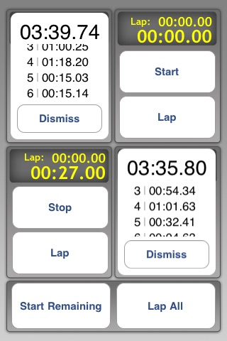 Multi Stopwatch Pro screenshot-3