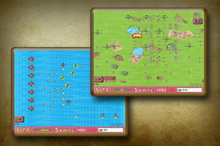 Doodle Dogfight Pro screenshot-3