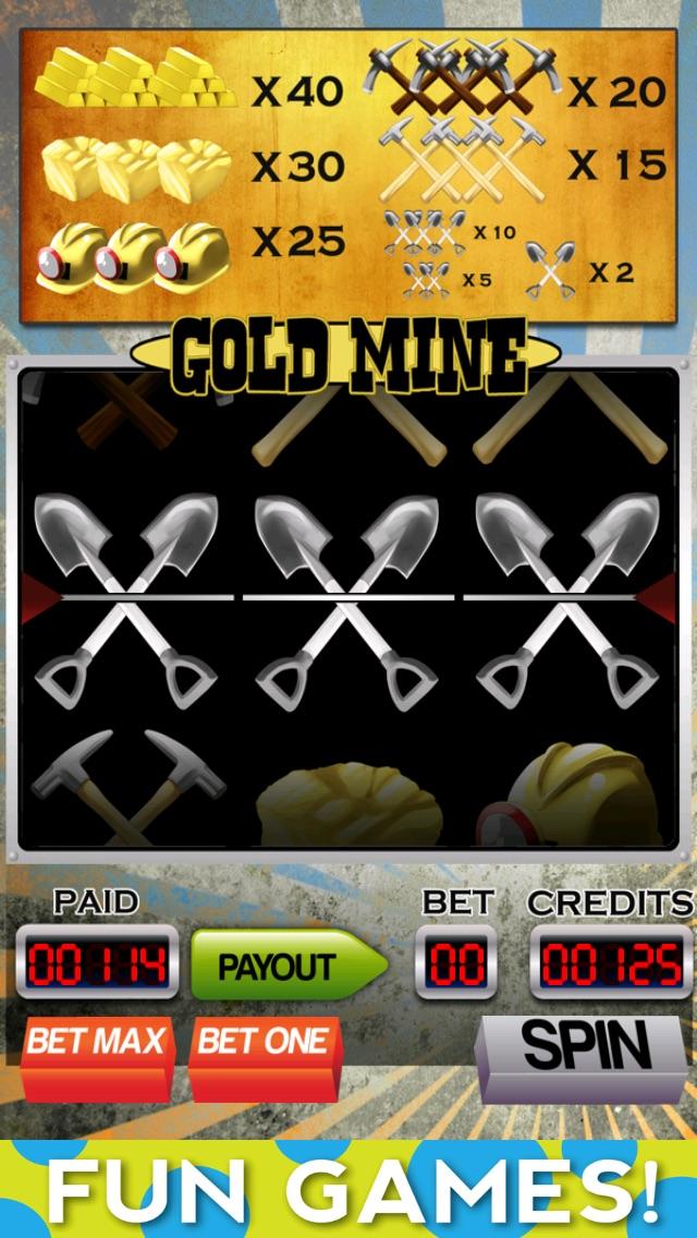 A Gold Mine Slot Machine with Blackjack and Bonus Wheel-1