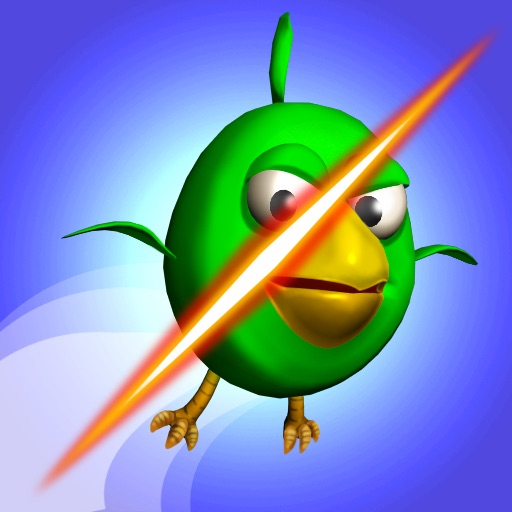 Cut the Birds 3D iOS App