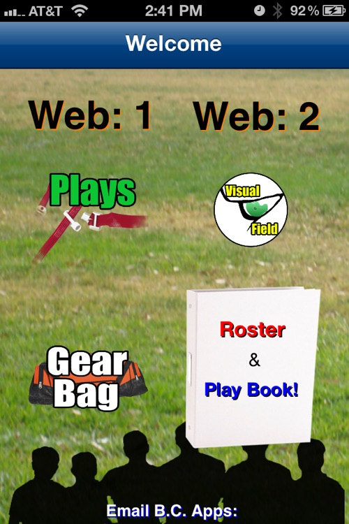 5-Man Flag Football Plays-Offense screenshot-1