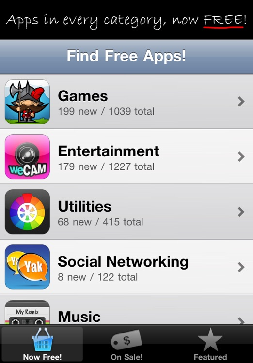 Find Free Apps screenshot-1