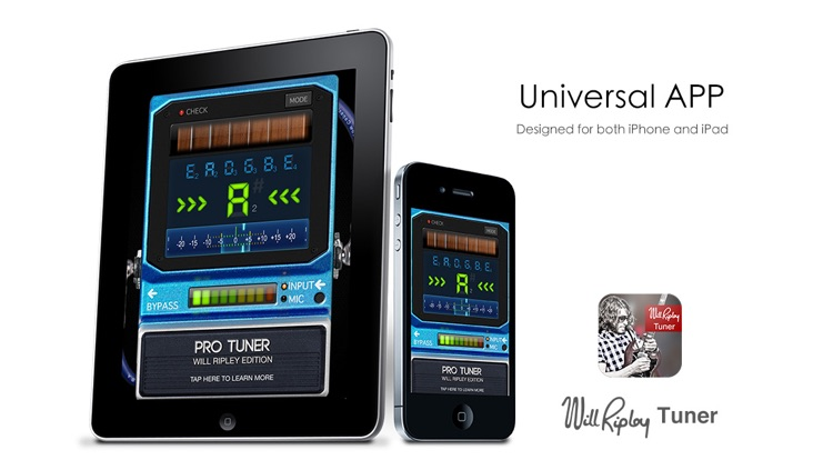 Will Ripley Tuner - Special Edition Pro Tuner screenshot-1