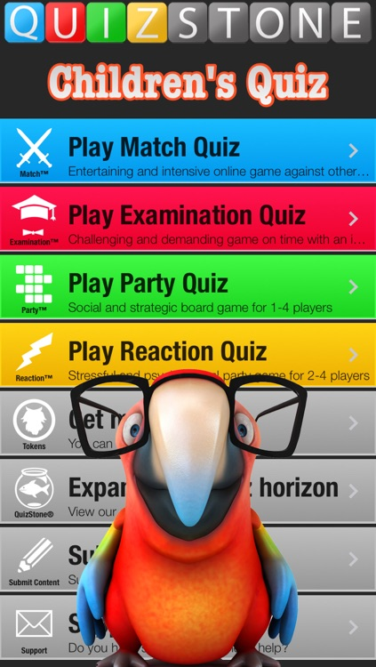 Children's Quiz - Learn Geography, History, Biology, Science etc. Free version