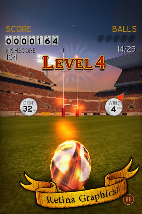 Flick Kick Rugby Kickoff screenshot-2