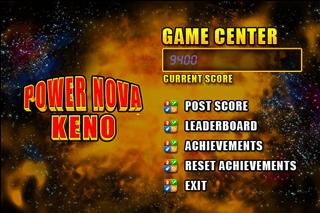Power Nova Keno screenshot three