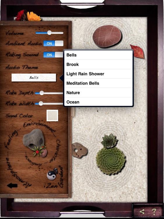 iZen Garden for iPad - Tabletop Zen Garden screenshot-3