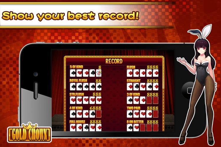 Gold Crown™ Video Poker screenshot-4