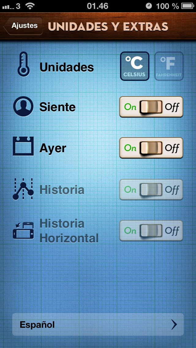 Screenshot for Thermo ~ Temperatura in Chile App Store