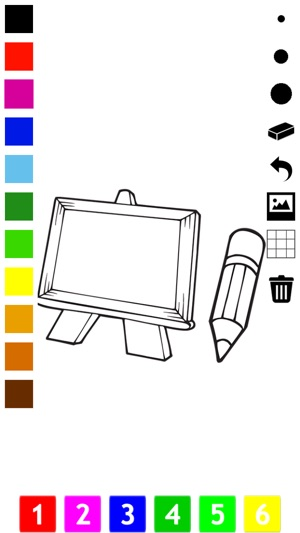 School Coloring Book For Children Learn To Color Your Life At Kindergarten Preschool And On The App Store