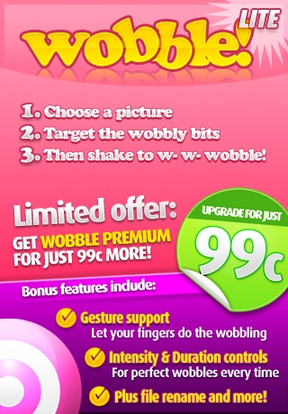 Wobble Lite screenshot-0
