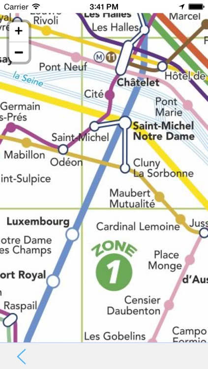 OffLine Map Paris - Guide Attractions and Transport