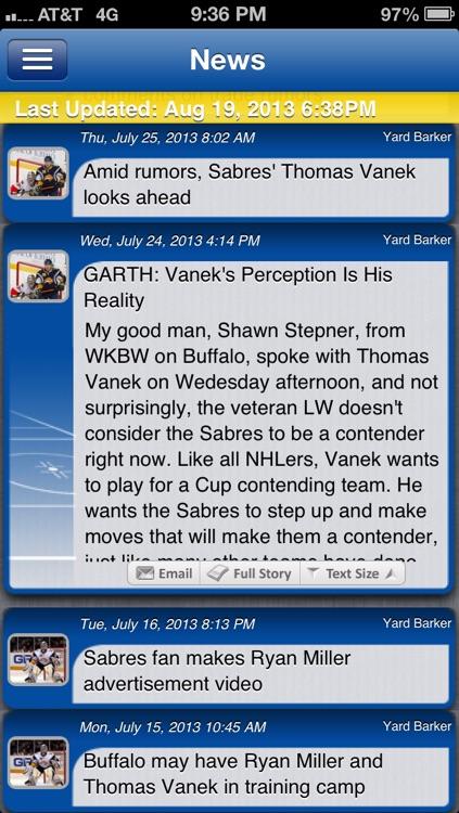 Buffalo Hockey Live screenshot-3