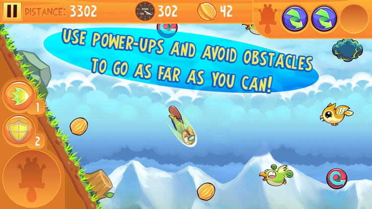 Kew Kew - The Crazy & Nuts Flying Squirrel Game screenshot-1