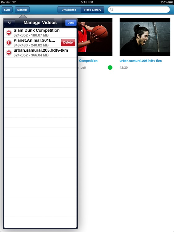 Remux MKV Player for iPad – Play Remuxed Xvid a... screenshot-3