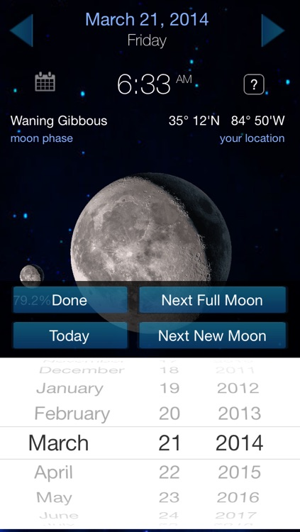 It's A Better Clock Full - Weather forecaster and Lunar Phase calendar