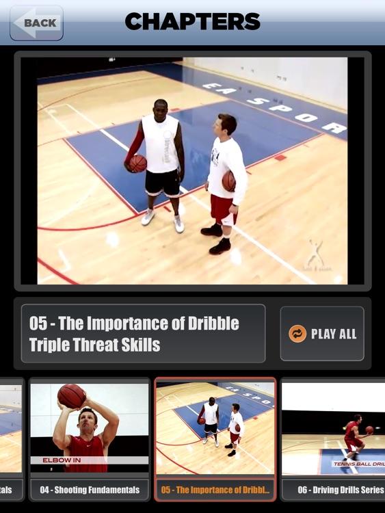 Dribble Triple Threat: Drive, Pass & Shoot - With Ganon Baker - Full Court Basketball Training Instruction - XL