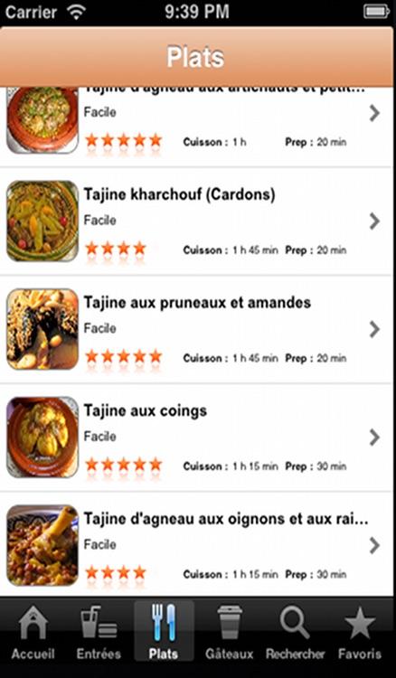 Cuisine Marocaine screenshot-4